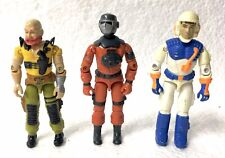 GI Joe Three Figure Lot Taurus Barbecue Snow Storm Vintage ARAH