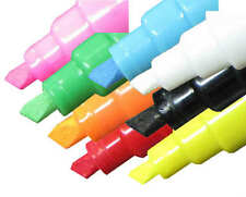 8 Pack Waterproof Windshield Auto Body Glass Neon Liquid Markers