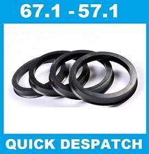 4 x 72.6-60.1 LEGA RUOTA gli anelli di centraggio HUB colletto di adattarsi RENAULT 25