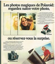 Publicité Advertising 1975 Appareil Photo Polaroid Colorpack 88