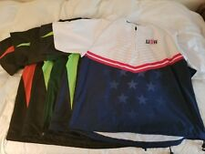 Lot of 5 Boombah Men's Short Sleeve Cage Jacket Pullover Medium