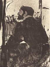 Henri Tolosa LAUTREC francese insonni NOTTE vecchia Arte Dipinto Manifesto bb5668a