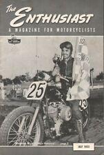 1953 July - The Enthusiast - Vintage Harley-Davidson Motorcycle Magazine