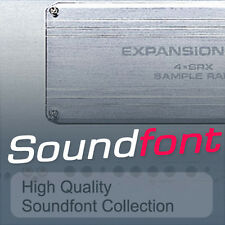 SOUNDFONT COLLECTION HIGH QUALITY SAMPLES SF2 FILES BEST VALUE