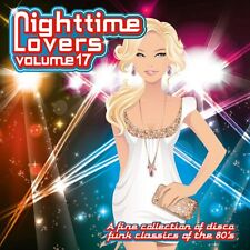 Nighttime Lovers Volume 17  cd 80's disco/funk classics ( Brick, Bobby King  )