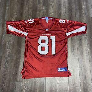 Reebok NFL Mens XL Anquan Boldin 81 Arizona Cardinals Printed Jersey Football