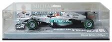 Voitures de courses miniatures gris, pour mercedes GP Mercedes