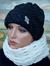 Feminine Damen Mütze Hut Strickmütze Strickhut Wintermütze beanie extra warm