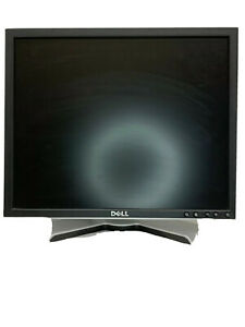 """Dell UltraSharp 1908FPt 19"""" Black LCD Monitor Display W/ DVI Cord Tested Working"""