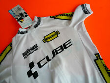 CUBE/BIORACER Rad-Trikot Rennrad/MTB Jersey Shirt EDEL-WEISS Größe XL Kurzarm