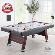 NEW Air Hockey Table with High End Blower, 84 inch , Red and Black
