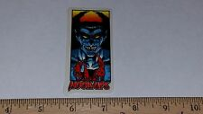 VTG HOOK UPS SKATEBOARD STICKER NOS JAPANESE ANIME FIEND HUNTER KILLER MONSTER !