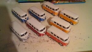 joblot vw campervan diecast welly/etc. used  pullbacks offers welcome