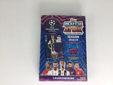2018/19 TOPPS UEFA CHAMPIONS LEAGUE MATCH ATTAX STARTER BOX Limited Edition