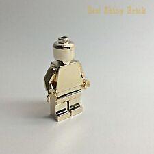 Lego Chrome Gold Plain Mini Figure *New*