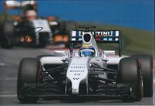 Felipe MASSA Signed Autograph Photo Williams F1 Autograph AFTAL COA Austrian GP