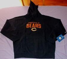 Chicago Bears Hoodie XL Navy Hooded Sweatshirt Reebok NFL
