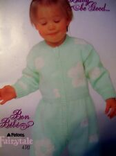 Patons Knitting Patterns Baby Cardigan Sweater Bonnet Bootees Knitting Patterns