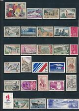 France **50 DIFFERENT (1960-1989)**  MOSTLY MNG; SOME MNH; CV $37
