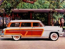 1954 Mercury Monterey Station wagon, Refrigerator Magnet, 40 MIL