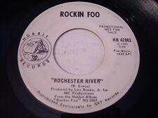 PROMO Rockin Foo Rochester River / Stranger in the Attic 1969 45rpm VG++ PSYCH