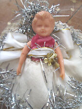 1950s CHRISTMAS TREE FAIRY ANGEL DOLL