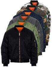 Bomber MA-1 Militare Originale Fostex Garments Flight Jacket colori vari