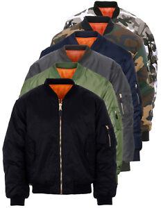 Bomber MA-1 Militare Originale Fostex Garments Flight Jacket colori vari