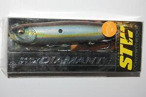 "megabass dog-x diamante rattle in 3/4oz 4.75"" sexy shad topwater walking"