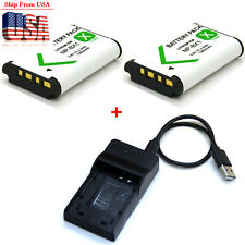 Battery / Charger For Sony Cyber Shot DSC-HX300 DSC-HX350 DSC-HX400 DSC-RX1 R