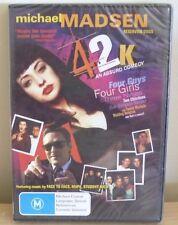 DVD BRAND NEW - 42K an ABSURD COMEDY - MICHAEL MADSEN - M