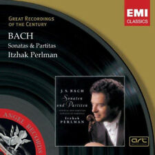 [NEW CD] BACH: Sonatas & Partitas by Itzhak Perlman, EMI Classics, 2 CD, SEALED