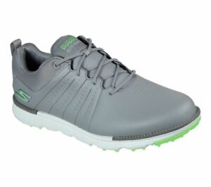 Skechers GO GOLF Elite - Tour SL 214004 Waterproof Golf Shoe - Gray/Lime