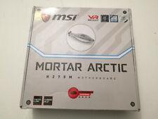 Msi H270M Mortar Arctic Motherboard Intel H270 LGA 1151 DDR4 8-8