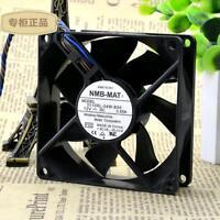 original NMB 3110RL-04W-B86 8025 12V 0.65A 4pin cooling fan