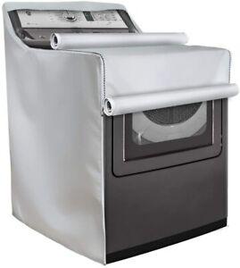 "Washing Machine Cover Washer/Dryer Protect Dustproof Waterproof 29""W 35""/43"" H"