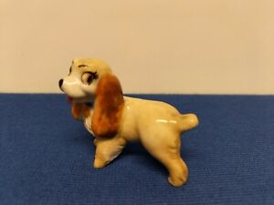 Lady And The Tramp Rare Figure Wade Pottery 1956 Disney LADY