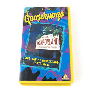 Goosebumps - Welcome to Horrorland - VHS Video Tape Cassette UK PAL
