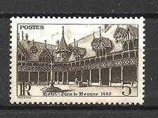 France 1941 Hotel-Dieu de Beaune Yvert n° 499 neuf ** MNH
