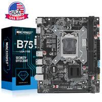 B75 Desktop Motherboard LGA 1155 DDR3 HDMI+VGA For Intel B75 Core i3 i5 i7 CPU