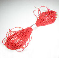 30AWG Red Color Soft Silicone Wire 50m Bending Cold-freeze & High-temp Resistant