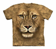 The Mountain Lion Warrior Wild Big Cat King Of The Jungle Cats Shirt Child Xl