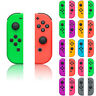 Nintendo Switch Joy-Con Controller Ersatz-Frontplatten touch Case Skin Hüll