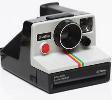 Polaroid OneStep Rainbow BC Series Instant SX-70 Film Camera Fully Operational