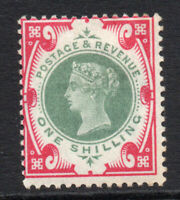 Great Britain Victoria 1/- c1900 Mounted Mint Stamp (2713)