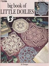 Big Book Little Doilies Leisure Arts Crochet Pattern 2874 Patricia Kristofferson
