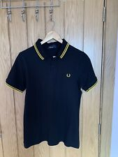 mens fred perry polo shirt small