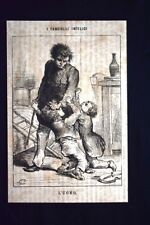 I fanciulli infelici - L'uomo Incisione del 1869