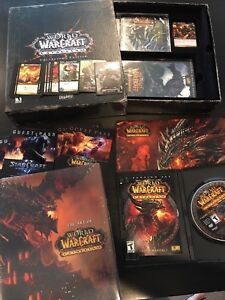 🔥 World of Warcraft: CATACLYSM -100% COMPLETE Collectors Edition USED GAME KEY