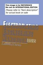 Electroplating Engineering Handbook by Lawrence J. Durney-Int Ed PaperBack 4ED